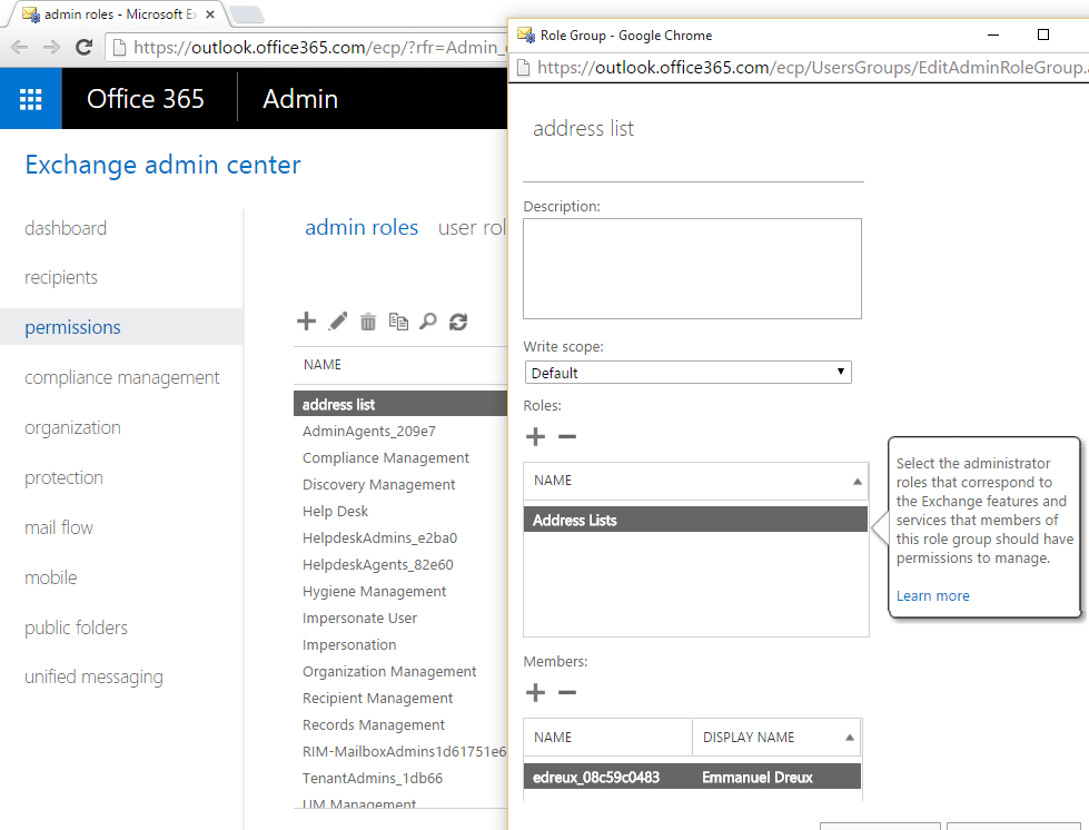 How to force AddressList refresh in Office 365 – Address List