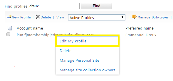 How to verify and modify the URL of a OneDrive profile - kb