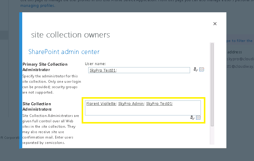 Give permissions to OneDrive