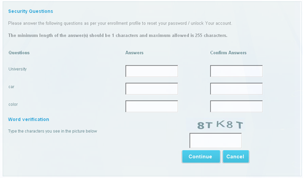 Reset Password Portal