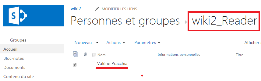 Permissions in Sharepoint reader