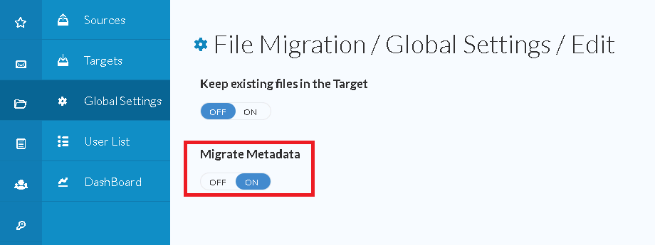 How Metadata are migrated during File Migration