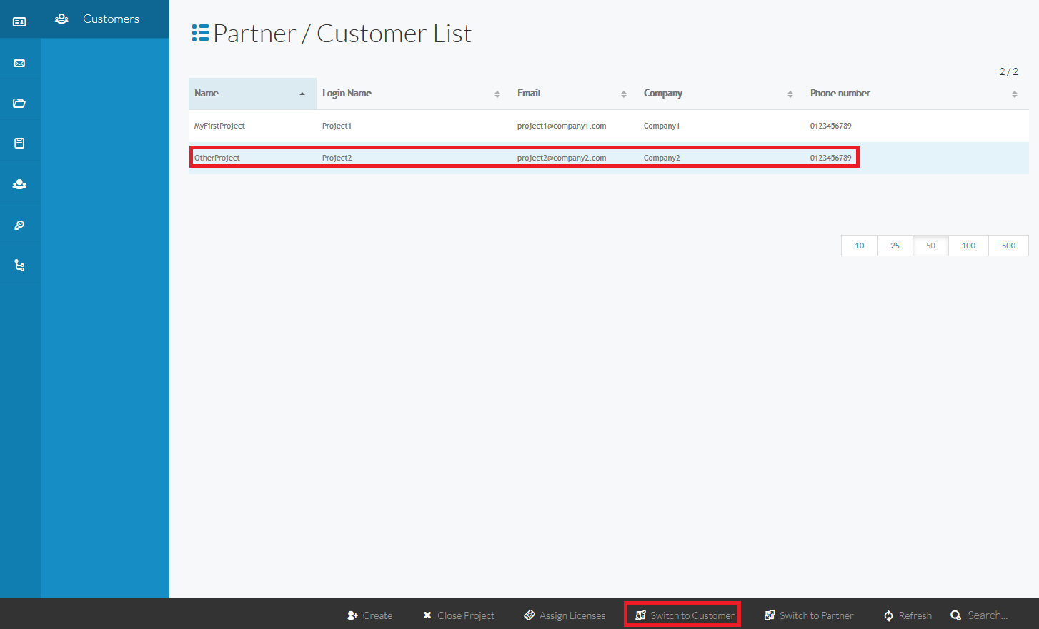 Partner Interface