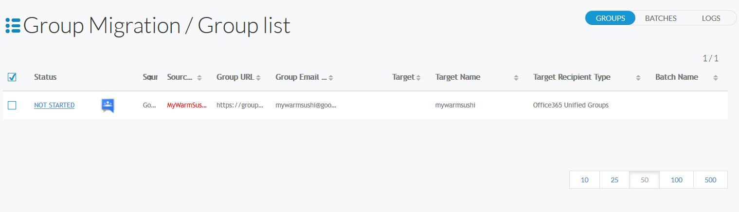 Google Groups Get Groups List