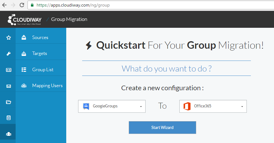Google Groups migration to Office 365 groups with the Cloudiway platform