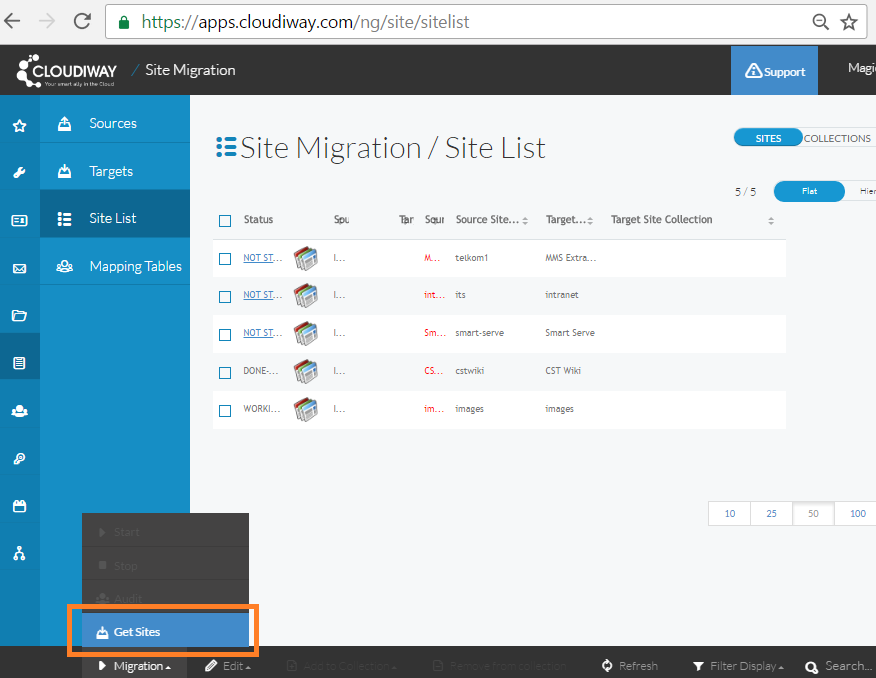 SharePoint site migration, Google Sites migrations with Cloudiway