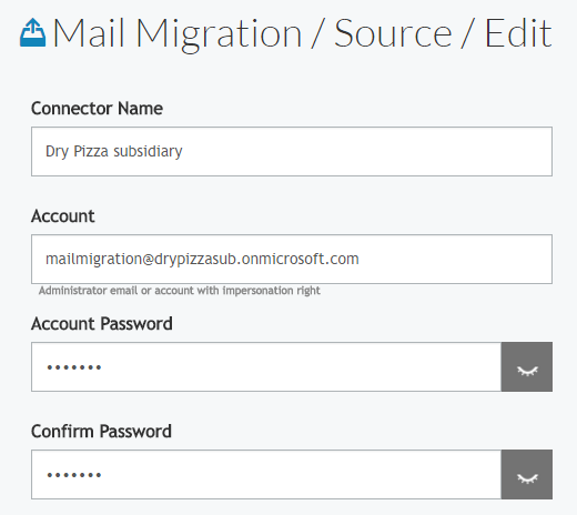 Cloudiway Office 365 mail archive migration