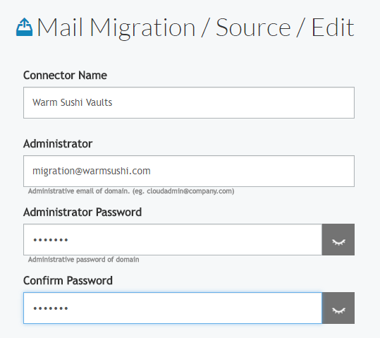 Cloudiway Google Vaults mail archive migration