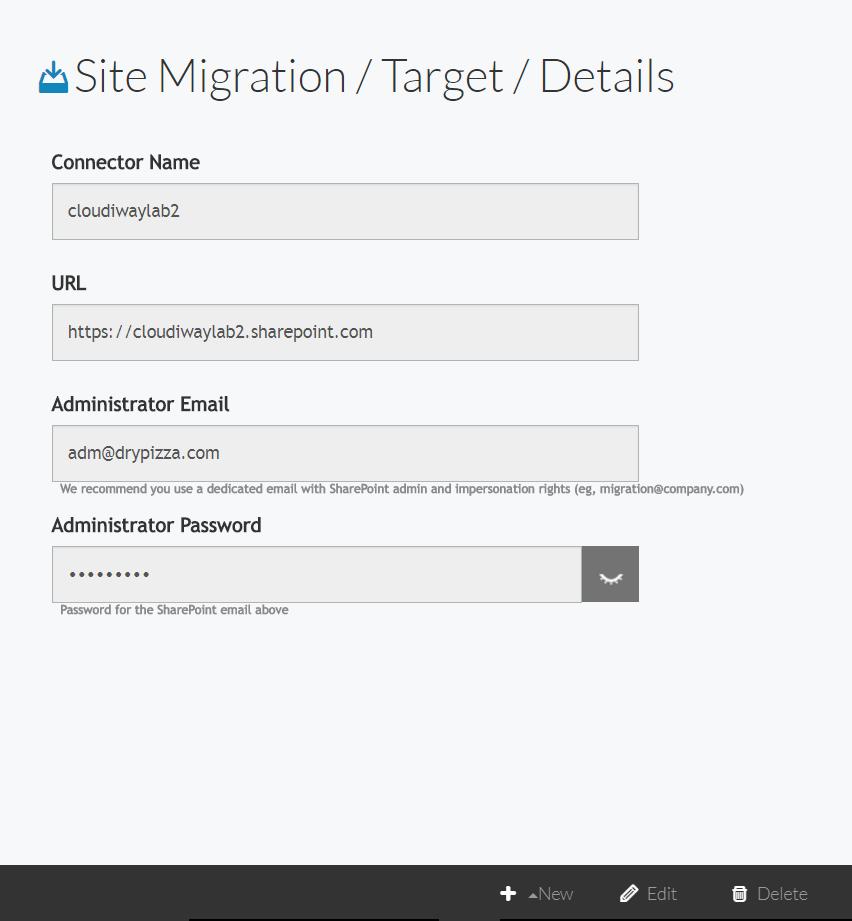 Cloudiway Sharepoint Onpremises migration