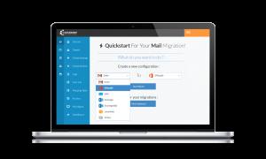 Cloudiway mail migration tool interface